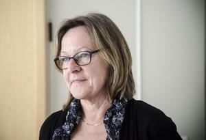 Ulla Strauss, enhetschef på Arbetsförmedlingen.