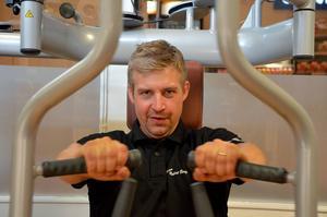 Njurundabon Jimmy Jonsson har gått ner 21 kilo på 10 veckor sedan han gick med i ett träningsprogram.