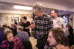 Gerd Pedersen med förra riksdagsledamoten Ola Sundell.
