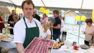 Under firandet presenterades konditoriets nyhet, Alexandratårta. Den består av en browniebotten och citron- och hallonmousse. Tårtan är uppkallad efter Kristina Leijonhufvuds dotter.