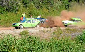 Bilden togs förra året när folkrace kördes i Mossgruvan.