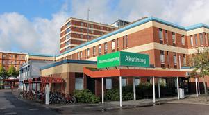 Trycket på akuten i Gävle har lättat något. Antalet besök ökar inte längre. Bild: Erik Jersenius