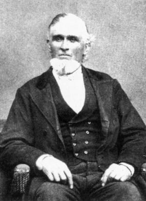 FANATIKER. Sjömannen John Forsgren från Gävle blev en hängiven mormon under sina år i USA. Men hemma i Sverige möttes hans predikningar mest av misstro och förakt.