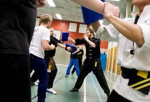 Kondition, styrka, rörlighet, snabbhet och mjölksyratålighet ställs på prov under mitsträningen.  Foto: Håkan Luthman