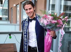 Robin Mähler, 27 från Sollefteå är utsedd till årets Mr World Sweden.