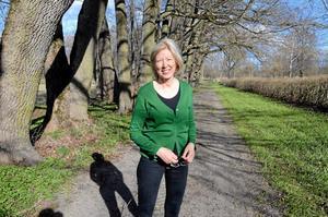 Parkpromenad. Efter konserterna kan besökarna njuta av herrgårdsmiljön och promenera till den engelska parken, berättar Ingrid Lagerfelt.