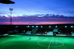 Behrn arenas ljusrigg håller inte måttet för kvalspel i omgång 3 och framåt i Europa league.