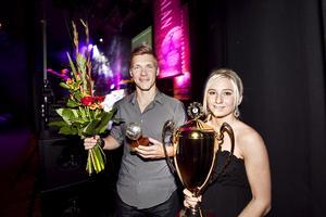 2011 prisades Siksten Kasimir som Årets manliga spelare i Hälsingland. På bilden tillsammans med Madeleine Pettersson, som fick pris som årets damspelare.