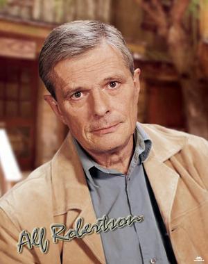Alf Robertson hyllas...