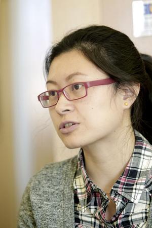 Zhu Sha från Sandviken är utbildad i bland annat affärsadministration. Hon ska jobba med företaget SenseAir från Delsbo för att hjälpa dem att slå sig in på den kinesiska marknaden.