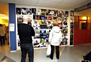 INTRYCK. Arbetarbladets fotografer visade upp nyhetsåret i bilder under redaktionens öppna hus.