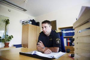 Dick Danielsson, lokal polisområdeschef i Örnsköldsvik.  Fotograf: Jennie Sundberg\/Arkiv