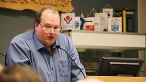 Stefan Vestling (SD) i Norbergs kommunfullmäktige.