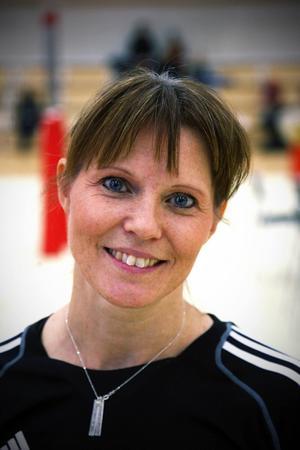 Aunzinita Malmborg, tränare i GK Motus Salto, Malmö.