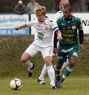 SFF:s lagkapten Robin Olofsson hoppas att han är tillbaka på fotbollsplanerna efter sommaruppehållet.