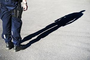 Polisen har fått in en anmälan om stöld efter händelsen vid sopsorteringen i centrala Hudiskvall.