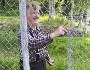 Per-Arne Åkerström ska se till att stängslet lagas.