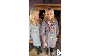 -- Det är detaljerna som gör det, efter många år i modebranschen har vi känsla för vad som är inne och vi vet hur man gör vardagen till en fest, säger Maria och Gitte.