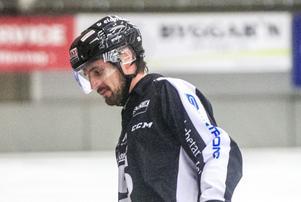 Daniel Bäck var en av Sandvikens bästa spelare i den andra semifinalen mot Edssbyn.