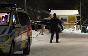 En och en halv timme efter knivdådet i Bollnäs kunde polisen gripa en misstänkt gärningsman.