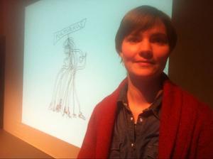 Företagsekonomen Lisa Nilsson har gjort förstudien om behovet av ett kulturhus.