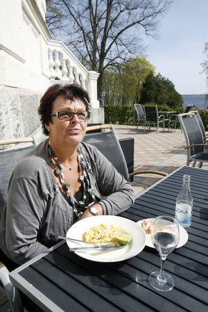 Anna-Karin Mägi kommer att tillbringa semestern i det hyrda huset i Torrevieja i Spanien, som vanligt.