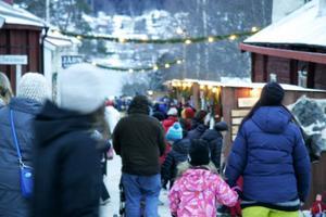 Det var fler än 200 utställare när Jamtlis julmarknad drog igång på fredagen.