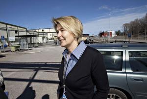 Ulrika Silver, produktionsenhetschef på Tråd.