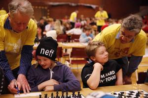 ...I gult hjälper de till med att bestämma vem som vunnit eller med lösa eventuella problem som uppstått.