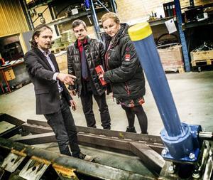 Johan Erling, Pär Jönsson (M) och Ewa Björling (M).
