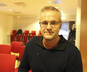 Tommy Lövenvik ägare av HMB Construction AB i Falun är en av flera företagare i Falun som är intresserad att bygga på området Myran.