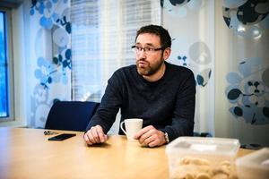 Martin Gidlund är förtegen om vilken verksamhet Nordek planerar för i sin nya fastighet.