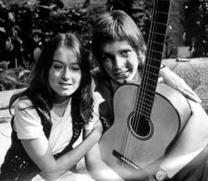 1971. Kerstin Wretmark och Göran Fristorp, ett mångårigt samarbete som bland annat syntes i tv men knappast till Örebros fördel.Arkivfoto: NA