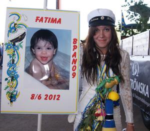 Fatima Aittalat  BPAN09 Edströmska skolan mottagare av skolans stipendium