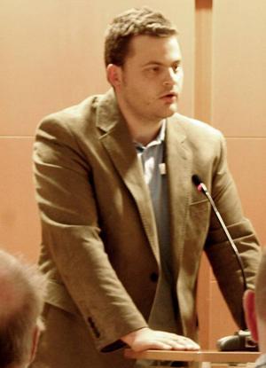 Anton Moberg (M) från Rödön vet i dagsläget inte hur det blir med hans politiska framtid.