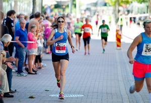 Ulrika Orrhult var snabbast av damerna.