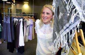 Nyöppnat. Jenny Rapp valde centrum för sin nyöppnade butik.