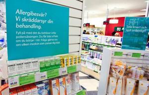 Det går väldigt bra att behandla sin allergi utifrån det  receptfria utbudet på Apoteket.
