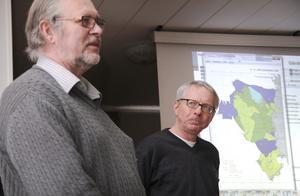 Gävleborgskartans utformning var i fokus under en stor del av diskussionen, då Jan Thorén och Lars-Erik Lundqvist dissekerade det nya regelverket.