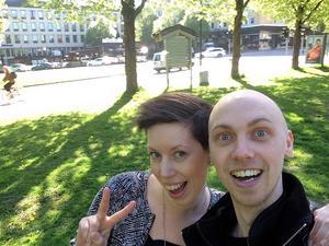 Linda Dahlqvist och Emil Alstermark.