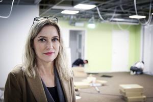 Susanne Froms är projektledare för Navet, Bollnäs nya ungdomscenter.