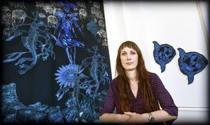 Carina Marklund ställer ut på konsthallen i Härnösand.