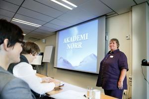 Elisabet Lassen inledde tvådagarsseminariet i Sollefteå.