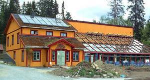 Kretsloppshuset i Mörsil söker nya ägare. Foto: Elisabet Rydell-Janson