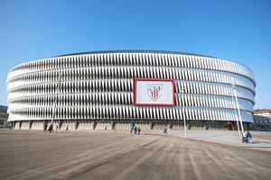 Athletic Bilbaos hemarena San Mames Stadion.