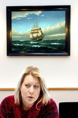 Infrastrukturminister Catharina Elmsäter Svärd (M).