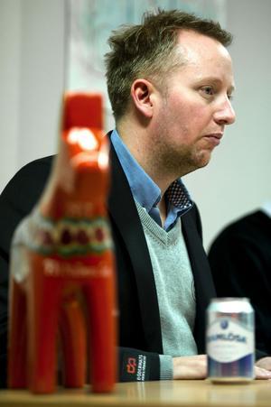 Leksandssonen Fredrik Söderström är tränare för Oskarshamn – ett av Hockeyallsvenskans hetaste lag.