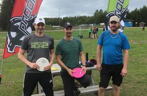 Motionsklassen: Henrik Walve, Richard Sandqvist och Andreas Karlsson