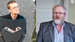 Kommunalrådet Sven-Olov Axelsson (till höger) är besviken på hur Yrkeshögskolan skött informationen om att skolan har en elev (Patrik Fridén, till vänster) som är nazist.