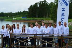 Juniorer och seniorer i Hudiksvalls IF samlades i Skålbo för sin årliga upptaktsträff.